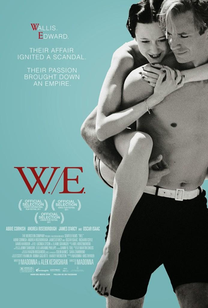 W.E. movie poster2