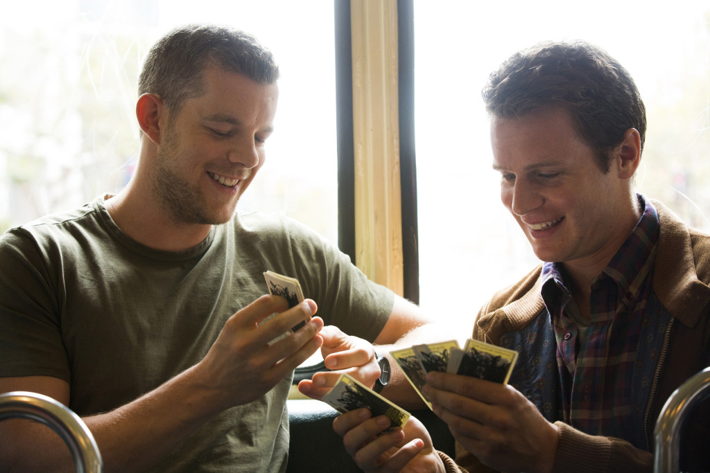 Russell Tovey ve Jonathan Groff