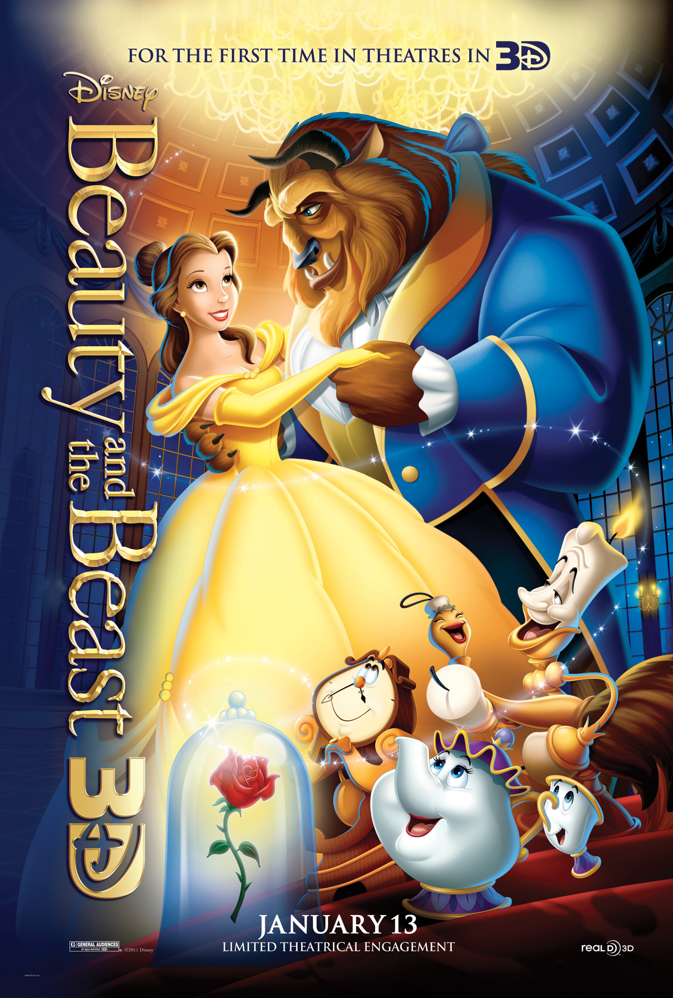 Beauty-and-the-Beast-3D-Poster