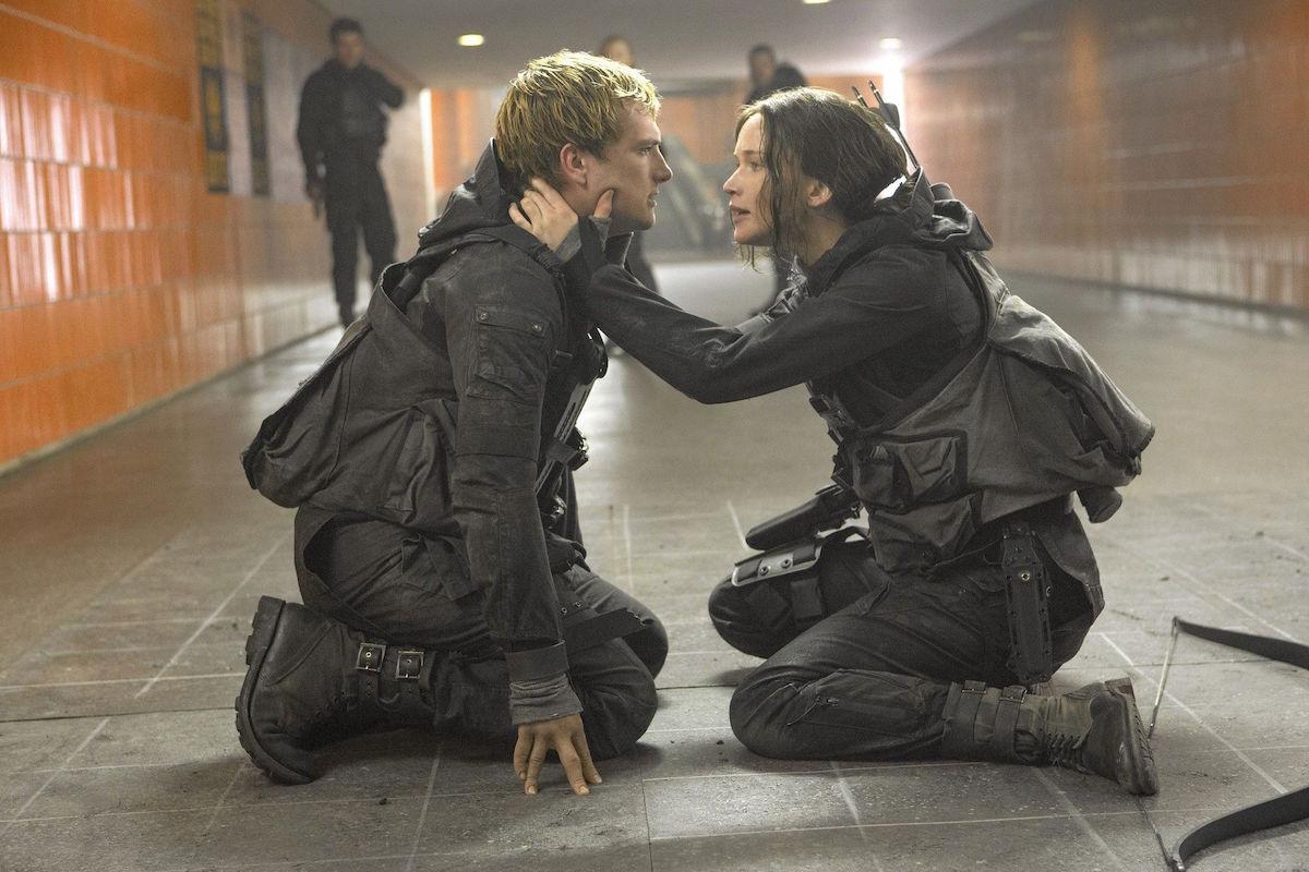 Josh Hutcherson ve Jennifer Lawrence