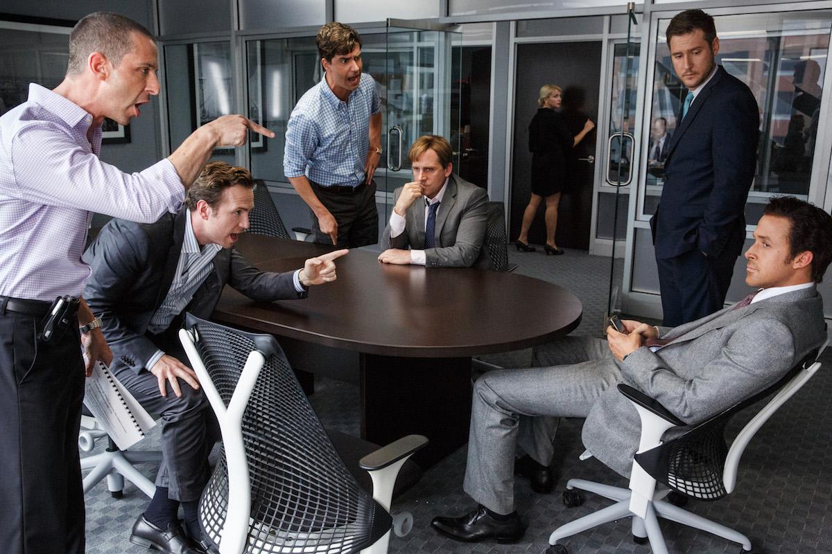Jeremy Strong, Rafe Spall, Hamish Linklater, Steve Carell, Jeffry Griffin ve Ryan Gosling
