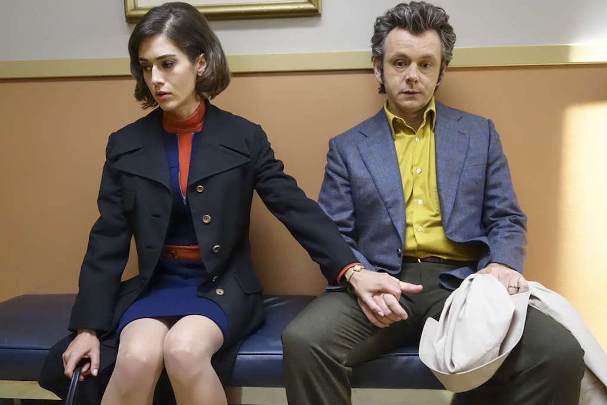 Lizzy Caplan as Virginia Johnson and Michael Sheen as Dr. William Masters in Masters of Sex (season 4, episode 6) - Photo: Warren Feldman/SHOWTIME - Photo ID: MastersofSex_406_0602