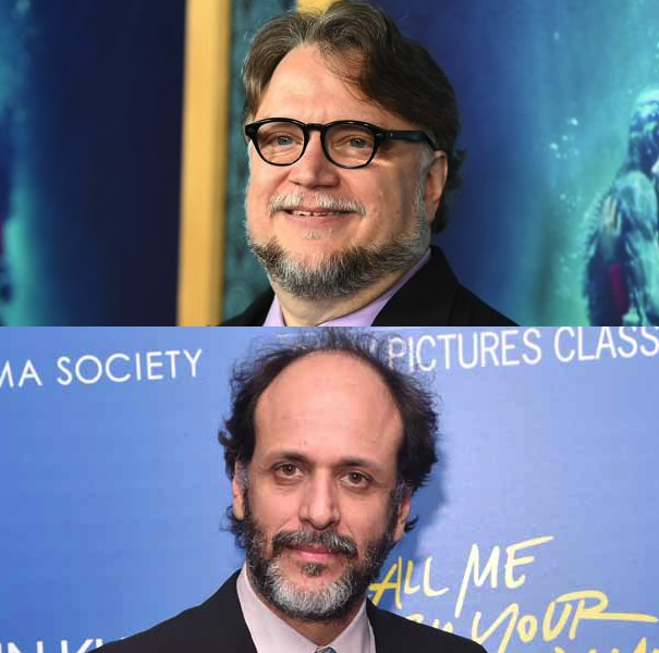 Del Toro (The Shape of Water) & Guadagnino (Call Me by Your Name)