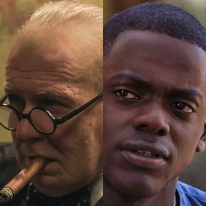 Oldman (Darkest Hour) & Kaluuya (Get Out)