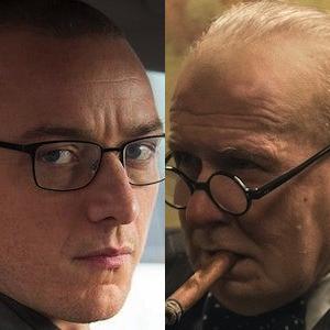 McAvoy (Split) & Oldman (Darkest Hour)