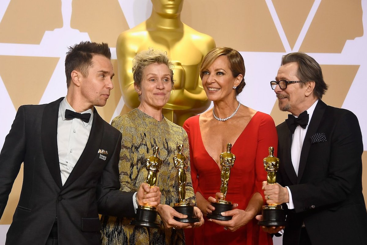 four acting winners